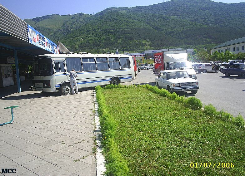 Автовокзал в Геленджике (новый)