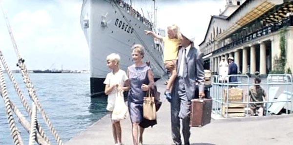 Семён Семёныч Горбунков в порту Сочи