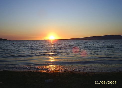 Закат в Геленджикской бухте