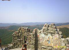 Место съёмок фильма ГРОЗОВЫЕ ВОРОТА. Горы недалеко от Геленджика