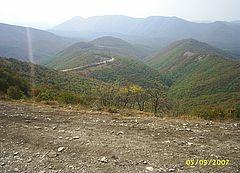 Горы Маркотхского хребта Кавказа