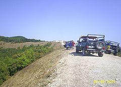 УАЗы в горах недалеко от Геленджика
