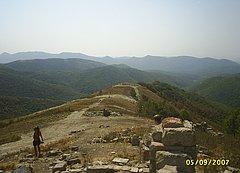 Горы Маркотхского хребта Кавказа. Недалеко от Геленджика.
