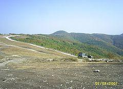 Горные дороги недалеко от Геленджика