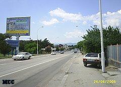 Улица Луначарского в Геленджике