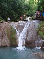 Водопады реки Шахе