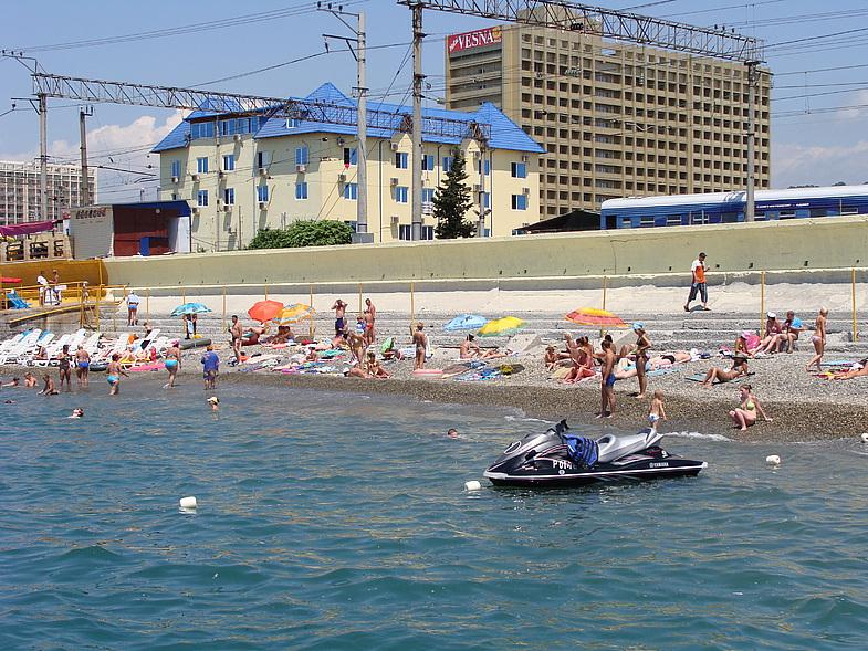 адлер курортный городок море фото вами целая
